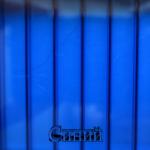 Синий*